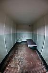 A Jail cell at Alcatraz in San Francisco, California. (Photo by Brian Garfinkel)