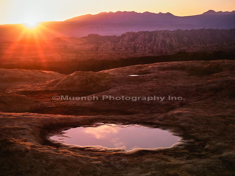 Behind the Rocks,Canyonlands National Park, Utah