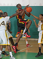 April 8, 2011 - Hampton, VA. USA; Savon Goodman participates in the 2011 Elite Youth Basketball League at the Boo Williams Sports Complex. Photo/Andrew Shurtleff