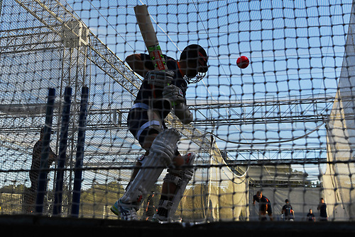 20th March 2018, Eden Park, Auckland, New Zealand;  Kane Williamson.<br /> New Zealand Blackcaps twilight training session ahead of the 1st day/night test match against England
