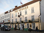 The George hotel, Colchester, Essex, England, UK