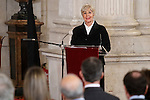 Concha Velasco attends to the closing of the commemoration of the IV centenary of the death of Miguel de Cervantes at Royal Palace in Madrid, Spain. January 30, 2017. (ALTERPHOTOS/BorjaB.Hojas)