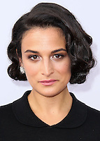 HOLLYWOOD, LOS ANGELES, CA, USA - JULY 14: Jenny Slate at the Los Angeles Premiere Of FX's 'You're The Worst' And 'Married' held at Paramount Studios on July 14, 2014 in Hollywood, Los Angeles, California, United States. (Photo by Xavier Collin/Celebrity Monitor)