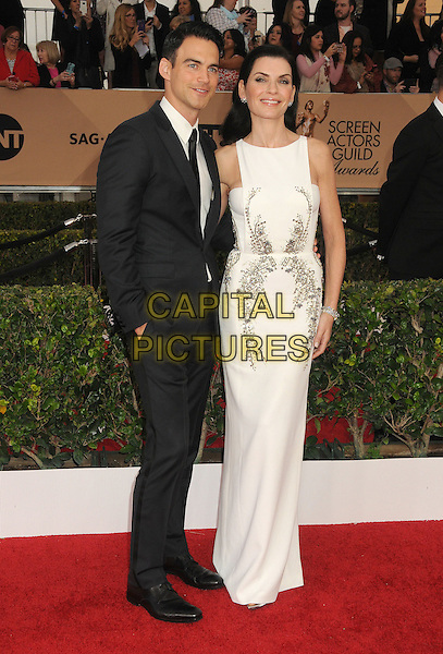 30 January 2016 - Los Angeles, California - Keith Lieberthal, Julianna Margulies. 22nd Annual Screen Actors Guild Awards held at The Shrine Auditorium.      <br /> CAP/ADM/BP<br /> &copy;BP/ADM/Capital Pictures