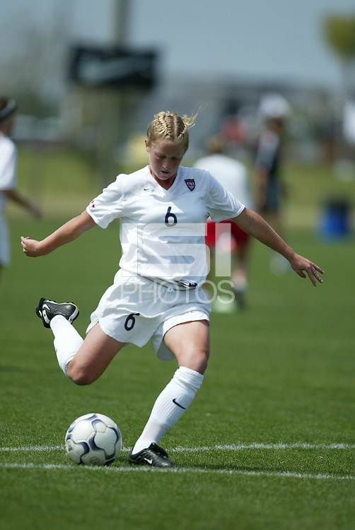 Melissa Hayes, U-16 US GNT, March 12, 2004