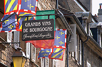 Wine shop. Beaune, cote de Beaune, d'Or, Burgundy, France