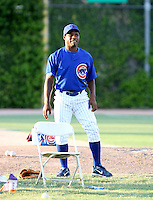 Tarlandus Mitchell / AZL Cubs..Photo by:  Bill Mitchell/Four Seam Images
