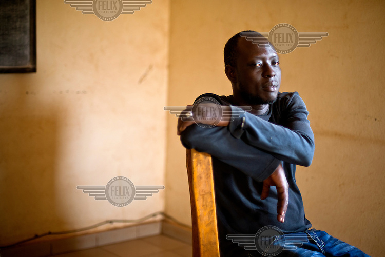 33 year old Malian Samakoun Dembele is a veteran of trans-Saharan travel having crossed the desert eight times. He has reached European shores on three occasions and also spent eight months in Libyan prisons. Many youths throughout West Africa dream of making the journey to Europe where they believe they will be able to make a life for themselves and send money home to their families. For this they are willing to risk their lives in a perilous journey across the Sahara Desert and then by rickety boats to Europe. The reality is that they are prey to exploitation throughout the journey and for those making the final sea voyage death by drowning is a common fate. Even those reaching the fabled European shore are usually returned after a prolonged period incarcerated in a migrants detention centre. Niamey has become a staging post where groups of young men often become stranded as they try to raise the funds necessary to continue their journey.