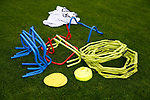 General view of training equipment during the training session at the Shirecliffe Training complex, Sheffield. Picture date: June 27th 2017. Pic credit should read: Simon Bellis/Sportimage