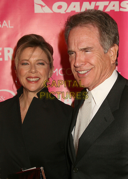 ANNETTE BENING & WARREN BEATTY.Billy Wilder Theater Opening Tribute at the Hammer Museum, Westwood, California, USA,.03 December 2006.portrait headshot benning beaty married husband wife couple.CAP/ADM/BP.©Byron Purvis/AdMedia/Capital Pictures.