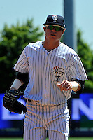 Staten Island Yankees outfielder Ben Gamel #24 during a game against the State College Spikes at Richmond County Bank Ballpark at St. George on July 14, 2011 in Staten Island, NY.  Staten Island defeated State College 6-4.  Tomasso DeRosa/Four Seam Images