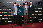 """Maria Belon and her Sons attend the Premiere of the movie """"UNBROKEN"""" in Madrid, Spain. December 15, 2014. (ALTERPHOTOS/Carlos Dafonte)"""