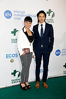 LOS ANGELES - FEB 28:   Kiki Sukezane, Toru Uchikado at the 15th Annual Global Green Pre-Oscar Gala at the NeueHouse on February 28, 2018 in Los Angeles, CA
