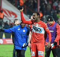 KV KORTRIJK - STANDARD LUIK :<br /> Bennard Kumordzi na de match<br /> <br /> Foto VDB / Bart Vandenbroucke