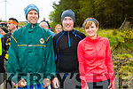 Andrew Scanlon,Paul Sugrue and Jodie O'Sullivan at the Wilderness Challenge 'B Wildered' at Glanageenty Ballymacelligott on Saturday