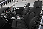 Front seat view of 2016 Audi A6 - 4 Door Sedan Front Seat  car photos