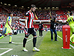 Kieron Freeman of Sheffield Utd during the Championship match at Bramall Lane, Sheffield. Picture date 26th August 2017. Picture credit should read: Simon Bellis/Sportimage