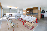 contemporary minimal living room