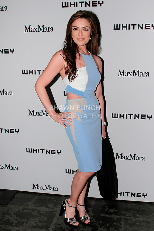 Nari Ibrahimi arrives at the annual Whitney Art Party hosted by the Whitney Contemporaries, and sponsored by Max Mara, at Skylight at Moynihan Station on May 1, 2013.