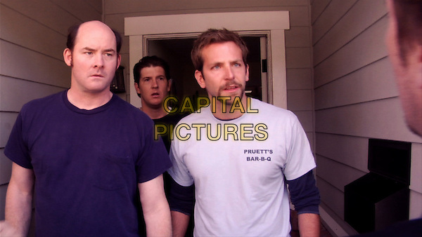 David Koechner, Nate Tuck &amp; Bradley Cooper <br /> in Brother's Justice (2010) <br /> *Filmstill - Editorial Use Only*<br /> CAP/NFS<br /> Image supplied by Capital Pictures