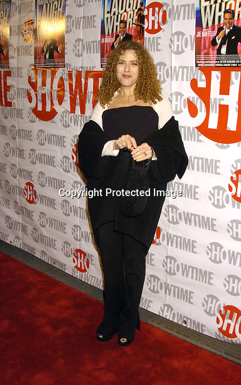 "Bernadette Peters..at the Broadway Opening of "" Mario Cantone: Laugh Whore""  on October 24, 2004 at the Cort Theatre. ..Photo by Robin Platzer, Twin Images .."