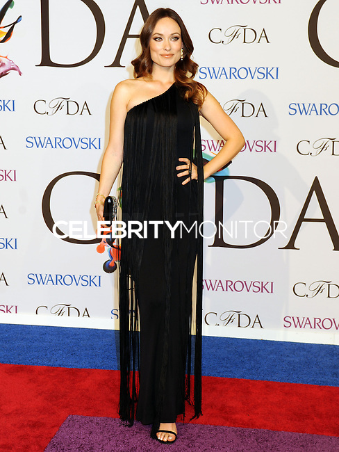 NEW YORK CITY, NY, USA - JUNE 02: Olivia Wilde arrives at the 2014 CFDA Fashion Awards held at Alice Tully Hall, Lincoln Center on June 2, 2014 in New York City, New York, United States. (Photo by Celebrity Monitor)
