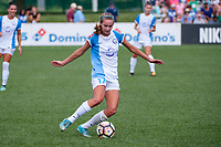 Kansas City, MO - Wednesday August 16, 2017: Dani Weatherholt during a regular season National Women's Soccer League (NWSL) match between FC Kansas City and the Orlando Pride at Children's Mercy Victory Field.