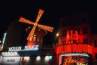 Moulin Rouge, Paris, France, Europe