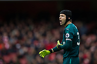 Arsenal's Petr Cech <br /> <br /> Photographer Craig Mercer/CameraSport<br /> <br /> The Premier League - Sunday 11th March 2018 - Arsenal v Watford - The Emirates - London<br /> <br /> World Copyright &copy; 2018 CameraSport. All rights reserved. 43 Linden Ave. Countesthorpe. Leicester. England. LE8 5PG - Tel: +44 (0) 116 277 4147 - admin@camerasport.com - www.camerasport.com