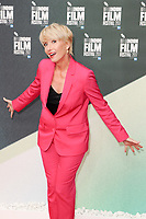 "Emma Thompson<br /> arriving for the London Film Festival 2017 screening of ""The Meyerowitz Stories"" at the Embankment Gardens Cinema, London<br /> <br /> <br /> ©Ash Knotek  D3319  06/10/2017"