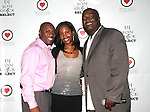 Duane, Tara and Jon Quick attend Beauty and the Beat Vol 2: Heroines for Haiti Hosted by Actress Bobbi Baker-James With DJ Jon Quick Select, The Hip Hop Loves Foundation and Love No Limit Honoring Model Maya Haile, Doris Haircare CEO Marlene Duperley, JRT Multimedia LLC Founder Jocelyn Taylor, Lamb to a Lion Productions CEO Setor Attipoe, Wagner Wolf Publishing CEO and Author Shermian P. Daniel, MD, Cute Beltz Clothing Company Owner Kristen Stevens, Johnny Vincent Swimwear Owner and Chief Designer Celeste Johnny and Visual Artist and Hip Hop Loves Boxing Programs in NYC and LA Founder Vanessa Chakour - Music by DJ Vidal, DJ CEO and DJ Jon Quick Held at Cielo, New York 3/25/2011