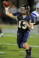 4 December 2010:  FIU quarterback Wesley Carroll (13) passes in the third quarter as the Middle Tennessee State University Blue Raiders defeated the FIU Golden Panthers, 28-27, at FIU Stadium in Miami, Florida.