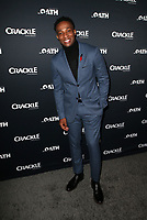 CULVER CITY, CA - MARCH 7: Arlen Escarpeta, pictured at Crackle's The Oath Premiere at Sony Pictures Studios in Culver City, California on March 7, 2018. <br /> CAP/MPIFS<br /> &copy;MPIFS/Capital Pictures