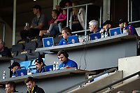 Bath Rugby analysts and coaches look on during the match. Heineken Champions Cup match, between Wasps and Bath Rugby on October 20, 2018 at the Ricoh Arena in Coventry, England. Photo by: Patrick Khachfe / Onside Images