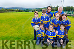 Cordal GAA are getting prepared for the opening of their new pitch this Saturday with a u12 football blitz front row l-r: Adam Griffin, Leah Griffin, Sharon Fitzmaurice. Back row: Shane Kelliher, Gerard Costello, Mike Griffin, Laura O'Donoghue, Maurice Costello, Caitlin Griffin,