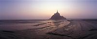 Europe/France/Normandie/Basse-Normndie/50/Manche/Mont Saint-Michel : Le mont et sa baie à l'aube