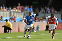 San Jose, CA - Thursday July 28, 2016: Andrew Farrell during a Major League Soccer All-Star Game match between MLS All-Stars and Arsenal FC at Avaya Stadium.