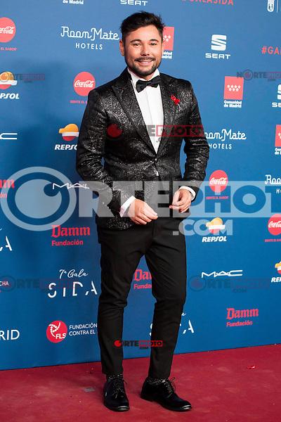Miguel Poveda attends to the photocall of the Gala Sida at Palacio de Cibeles in Madrid. November 21, 2016. (ALTERPHOTOS/Borja B.Hojas) //NORTEPHOTO.COM