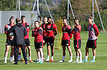 Chris Wilder manager of Sheffield Utd talks to the players during the Sheffield Utd training session at the Shirecliffe Training Complex , Sheffield. Picture date: September 29th, 2016. Pic Simon Bellis/Sportimage