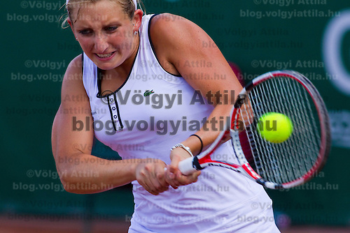 Timea Bacsinszky (SUI) during the Gaz de France Suez WTA tour Grand Prix international women tennis competition held at Roman Tennis Academy in Budapest, Hungary. Tuesday, 06. July 2010. ATTILA VOLGYI