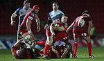 Scarlets scrum half Gareth Davies..Scarlets v Connacht.Parc y Scarlets.Rabo Pro12.08.02.13.©Steve Pope-SPORTINGWALES