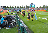 Rippa rugby on day one of the 2018 HSBC World Sevens Series Hamilton at FMG Stadium in Hamilton, New Zealand on Saturday, 3 February 2018. Photo: Dave Lintott / lintottphoto.co.nz