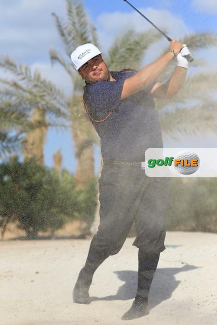Joel Sjoholm (SWE) feature pictured at the Abu Dhabi HSBC Golf Championship in the Abu Dhabi golf club, Abu Dhabi, UAE..Picture: Fran Caffrey/www.golffile.ie.