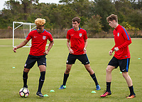 USMNT U-20 Training, January 8, 2018