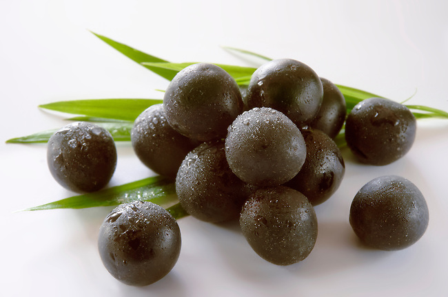 Stock photos & Images of the acai berry the super fruit anti oxident from the Amazon. The acai berry has been associated with helping weight loss.
