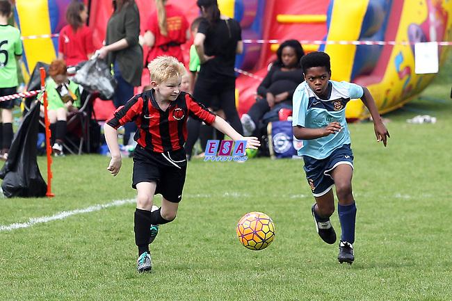 COBRA v CROYDON<br /> U10 GROUP MATCH<br /> THAMESMEAD SUMMER FESTIVAL OF FOOTBALL 2016<br /> SATURDAY 28TH MAY 2016<br /> BAYLISS AVENUE