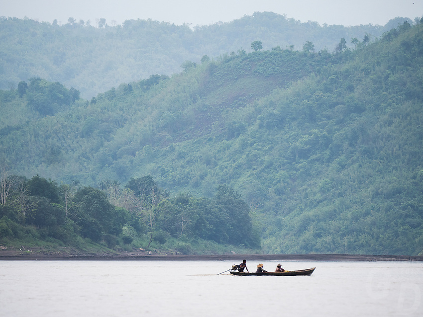 On the Lay Mro River, Rakhine State, Myanmar