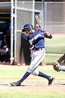 Yadiel Rivera - Milwaukee Brewers - 2010 Instructional League.Photo by:  Bill Mitchell/Four Seam Images..