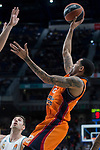 Valencia Basket Erick Green during Turkish Airlines Euroleague match between Real Madrid and Valencia Basket at Wizink Center in Madrid, Spain. December 19, 2017. (ALTERPHOTOS/Borja B.Hojas)