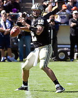 October 03, 2008: Purdue quarterback Curtis Painter. The Penn State Nittany Lions defeated the Purdue Boilermakers 20-06 on October 03, 2008 at Ross-Ade Stadium, West Lafayette, Indiana.